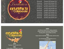 nº 6 pour Design a DL Size invitation for End of Year Celebration par swethanagaraj
