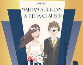 Nro 29 kilpailuun Custom wedding posters käyttäjältä tchendo