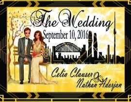 Nro 35 kilpailuun Custom wedding posters käyttäjältä myriadpages