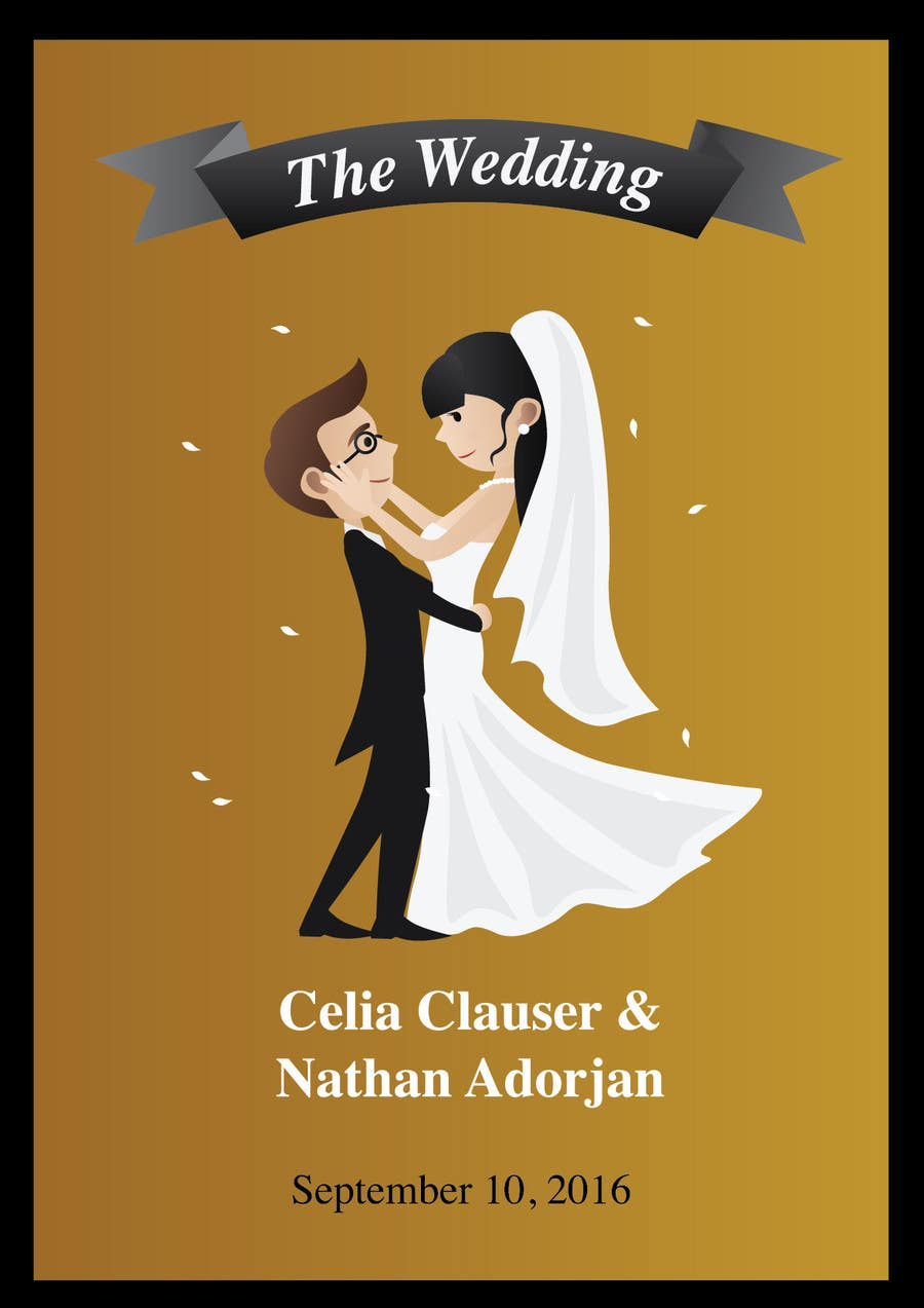 Contest Entry 17 For Custom Wedding Posters
