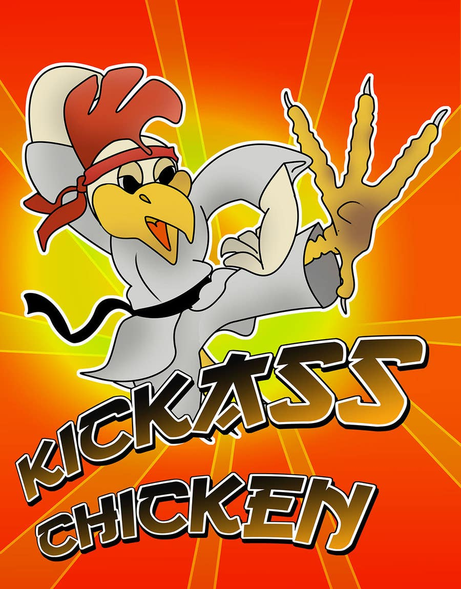 Contest Entry #                                        5                                      for                                         Design a Cool Logo for my chicken shop - repost