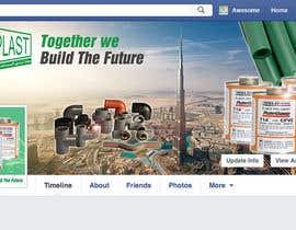 Nro 6 kilpailuun Design a Facebook landing page käyttäjältä TDuongVn