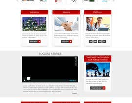 #16 para Home Page Design for a Corporate Site ( Would evolve into long term contract) por atularora