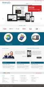 #8 for Home Page Design for a Corporate Site ( Would evolve into long term contract) af kreativeminds