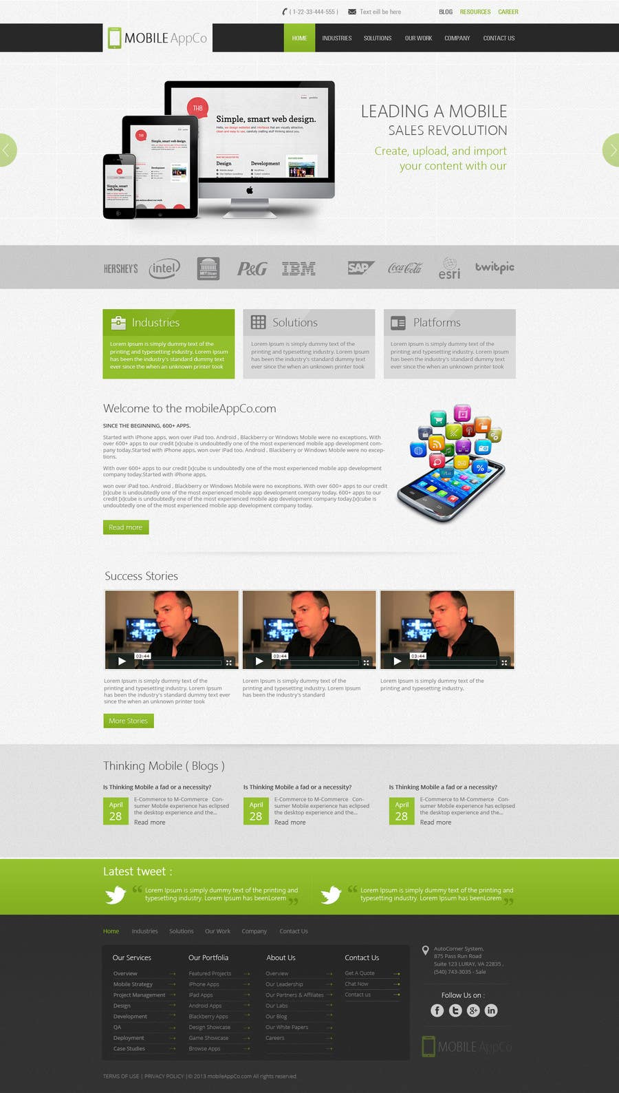 #18 for Home Page Design for a Corporate Site ( Would evolve into long term contract) by kreativeminds