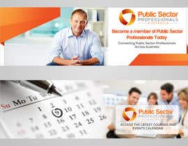 #35 for Design 4 website banners - Public Sector Professionals by Hobology