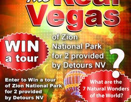 #21 for Graphic Design for Vegas based contest af AntonSh