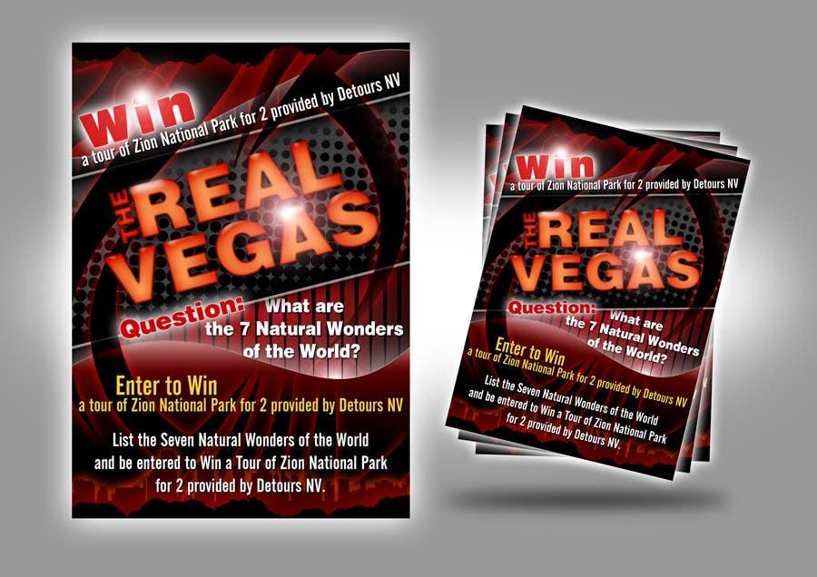 Konkurrenceindlæg #                                        8                                      for                                         Graphic Design for Vegas based contest