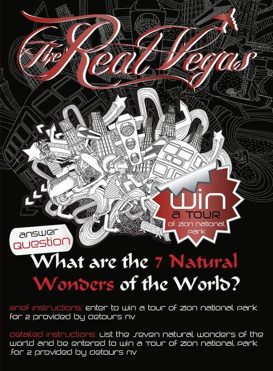 Penyertaan Peraduan #2 untuk Graphic Design for Vegas based contest