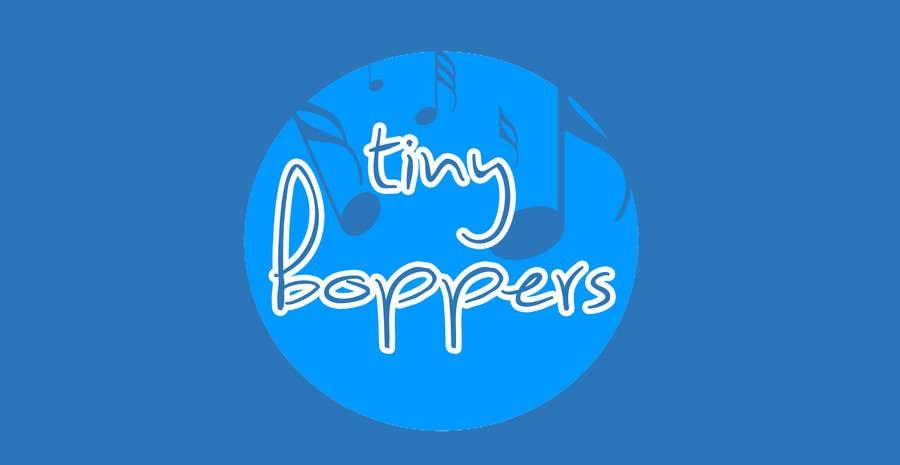 Kilpailutyö #29 kilpailussa Design a logo for Tiny Boppers - a preschool music & movement class