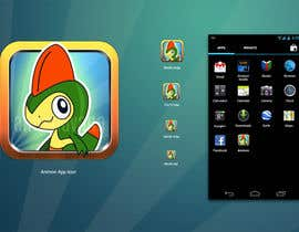 nº 18 pour Illustrate App Icon for Animon Game par annahavana
