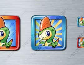 nº 27 pour Illustrate App Icon for Animon Game par elenabsl