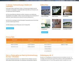 #13 untuk Design Website for Holiday Appartment Booking Page - repost oleh andviel