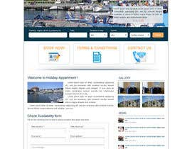 nguyetvan tarafından Design Website for Holiday Appartment Booking Page - repost için no 12
