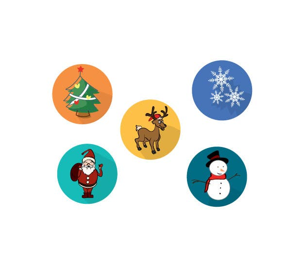 Contest Entry #                                        1                                      for                                         Design 5 Christmas Icons