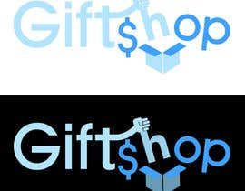 #15 untuk Design a Logo and facebook cover Name: Gift$hop oleh rivemediadesign