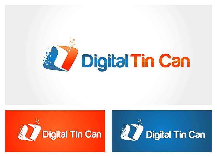 Kilpailutyö #33 kilpailussa Design a Logo for Digital Tin Can