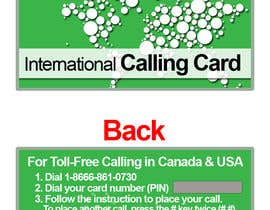 #22 for Prepaid Calling Card Design af sharpBD