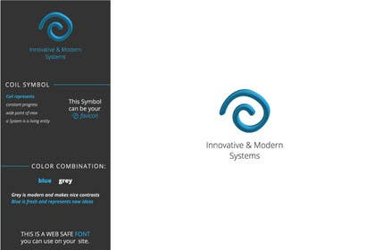 #286 for Design a Logo for Innovative & Modern Systems by KonstantinaD