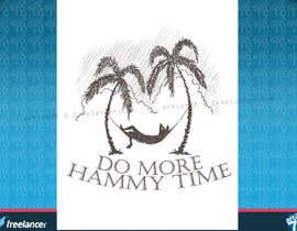 "nº 32 pour Design a T-Shirt for ""Do More Hammy Time"" par artist78"