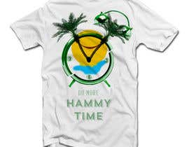 "#35 untuk Design a T-Shirt for ""Do More Hammy Time"" oleh VitorESilva"