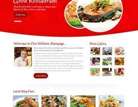 nº 21 pour wordpress cooking Website using plugin par usaart