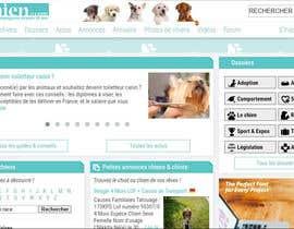 Nro 45 kilpailuun Design a (simple) logo for an editorial website about dogs käyttäjältä Killy93