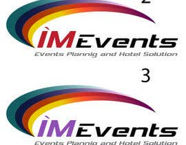 nº 68 pour Design a Logo for  I'M EVENTS par thinkingartt