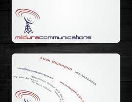 nº 21 pour Business Card Design for Mildura Communications par F5DesignStudio