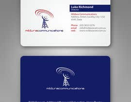 #14 untuk Business Card Design for Mildura Communications oleh imaginativeGFX