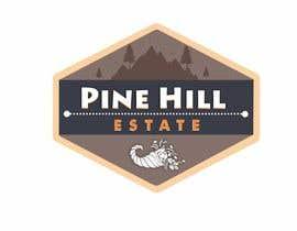 vallabhvinerkar tarafından Pine Hill Estate logo için no 16