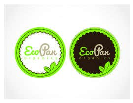 #50 for Diseñar un logotipo for eco pan organics by motmotcreative
