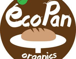 #61 for Diseñar un logotipo for eco pan organics by chrislandaeta