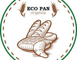 #54 for Diseñar un logotipo for eco pan organics by irenetls