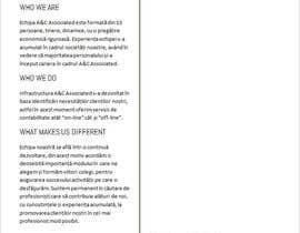 Nro 23 kilpailuun A&C ASSOCIATED SRL | design power point template käyttäjältä aldarochirov