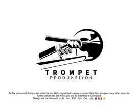 Nro 7 kilpailuun Trompet Prodüksiyon İçin Bir Logo Tasarla käyttäjältä MehrdadPN