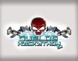 Nro 28 kilpailuun Design a sticker for a company hackathon. käyttäjältä saulwoods
