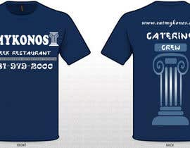 #4 para Design a T-Shirt for Mykonos Greek Restaurant por uditgarg94