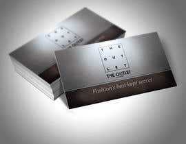 #67 untuk Business Card Design for The Outlet Fashion Company oleh kzexo