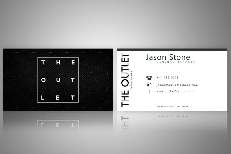 Contest Entry #                                        83                                      for                                         Business Card Design for The Outlet Fashion Company