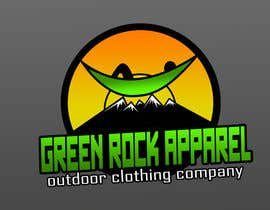 #24 para Design a Logo for Green Rock Apparel por marioseru