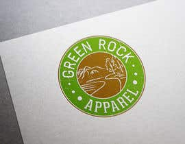 #17 para Design a Logo for Green Rock Apparel por BiancaN