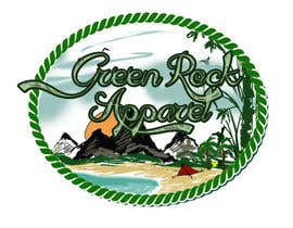 nº 21 pour Design a Logo for Green Rock Apparel par MadaU