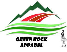 nº 18 pour Design a Logo for Green Rock Apparel par FaheemShahGilani