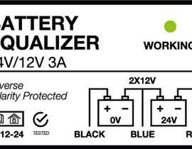 Nro 2 kilpailuun Product label for charging equaliser käyttäjältä marcastad
