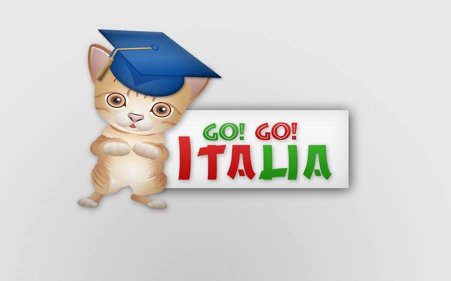 Kilpailutyö #46 kilpailussa Mascot Design for Go! Go! Italia