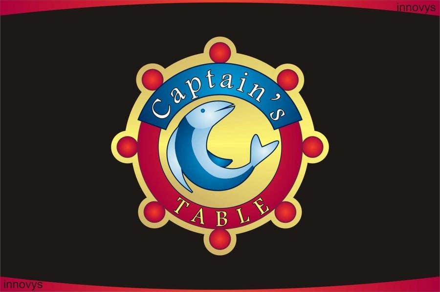 Penyertaan Peraduan #96 untuk Design a logo for the brand 'Captain's Table'