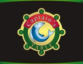 #94 untuk Design a logo for the brand 'Captain's Table' oleh innovys
