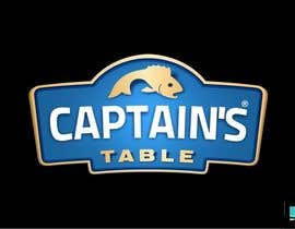 #19 untuk Design a logo for the brand 'Captain's Table' oleh kronokx