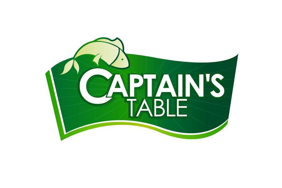 Konkurrenceindlæg #                                        64                                      for                                         Design a logo for the brand 'Captain's Table'